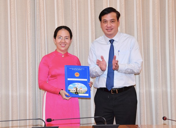 Bà Bùi Thị Ngọc Hiếu làm Phó Giám đốc Sở Du lịch TPHCM ảnh 2