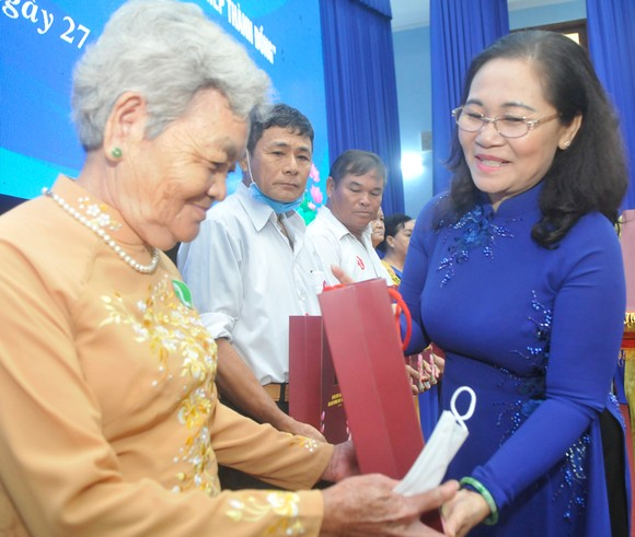 171 tuyến đường tại huyện Củ Chi mang tên 171 mẹ Việt Nam anh hùng  ảnh 3