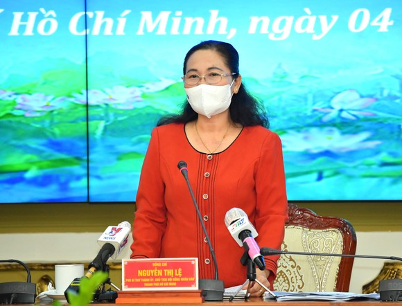 Chủ tịch HĐND TPHCM Nguyễn Thị Lệ yêu cầu có phương án phòng, chống dịch Covid-19 ở tất cả quy trình của hoạt động bầu cử  ảnh 1