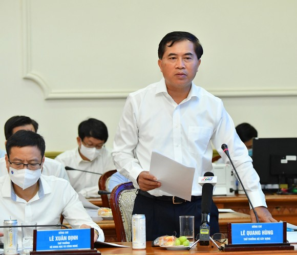 Chủ tịch UBND TPHCM Nguyễn Thành Phong: Hiện thực hóa khát vọng vươn lên của TPHCM, trở thành đại đô thị mang đẳng cấp khu vực ảnh 5