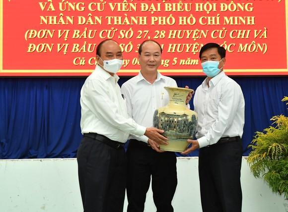Chủ tịch nước Nguyễn Xuân Phúc quan tâm thúc đẩy hai huyện Hóc Môn và Củ Chi phát triển ảnh 3