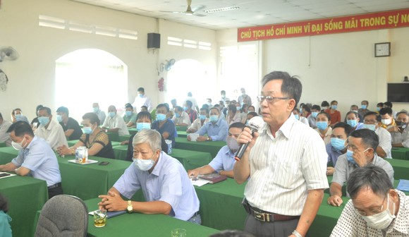 Đồng chí Nguyễn Thị Lệ: HĐND TPHCM nhập cuộc, giám sát ngay dự án 'treo' cử tri phản ánh ảnh 3