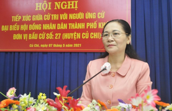 Đồng chí Nguyễn Thị Lệ: HĐND TPHCM nhập cuộc, giám sát ngay dự án 'treo' cử tri phản ánh ảnh 1