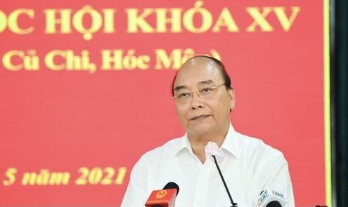Chủ tịch nước Nguyễn Xuân Phúc: Thúc đẩy giải quyết kiến nghị của cử tri đến nơi đến chốn ảnh 2