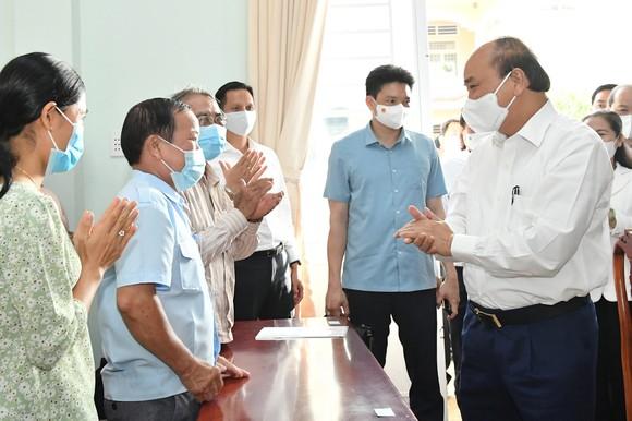 Cử tri huyện Củ Chi vui mừng khi Chủ tịch nước ứng cử đại biểu Quốc hội tại vùng đất cách mạng ảnh 1