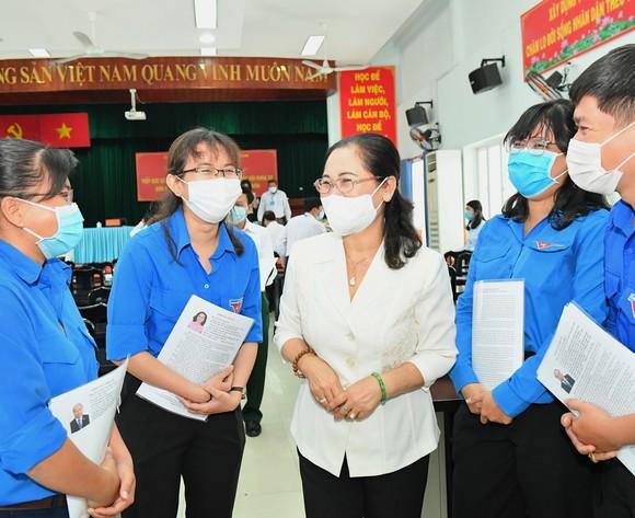 Chủ tịch nước Nguyễn Xuân Phúc sẽ trực tiếp tham gia, xử lý các vấn đề của cử tri, của huyện Hóc Môn và TPHCM ảnh 5