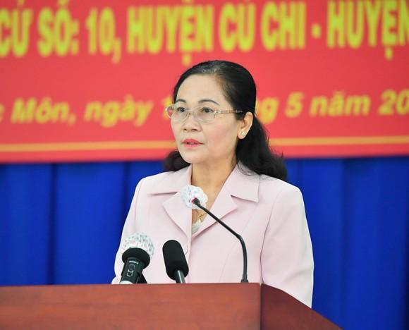 Chủ tịch nước Nguyễn Xuân Phúc: đưa huyện Hóc Môn, Củ Chi trở thành thành phố phía Tây, cực tăng trưởng mới của TPHCM ảnh 4