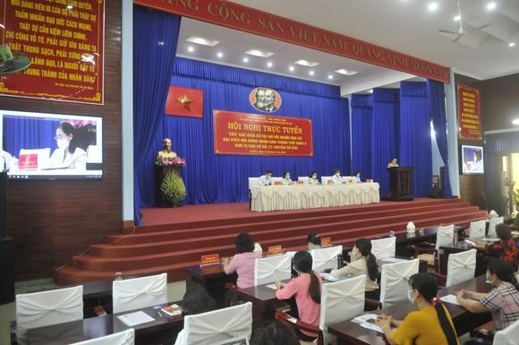 Chủ tịch HĐND TPHCM Nguyễn Thị Lệ tiếp xúc cử tri nữ và cán bộ, chiến sĩ Sư đoàn 9 ảnh 6