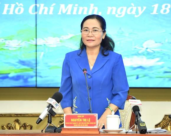 Chủ tịch HĐND TPHCM Nguyễn Thị Lệ: Không tập trung quá đông người trong một thời điểm ở phòng bỏ phiếu  ảnh 2