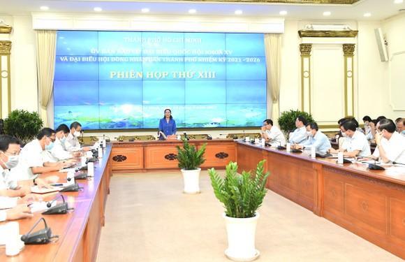 Chủ tịch HĐND TPHCM Nguyễn Thị Lệ: Không tập trung quá đông người trong một thời điểm ở phòng bỏ phiếu  ảnh 1