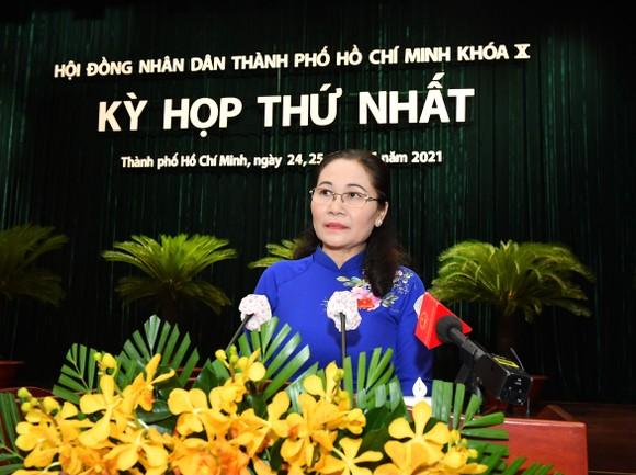 Đồng chí Nguyễn Thị Lệ tái đắc cử Chủ tịch HĐND TPHCM khóa X ảnh 1
