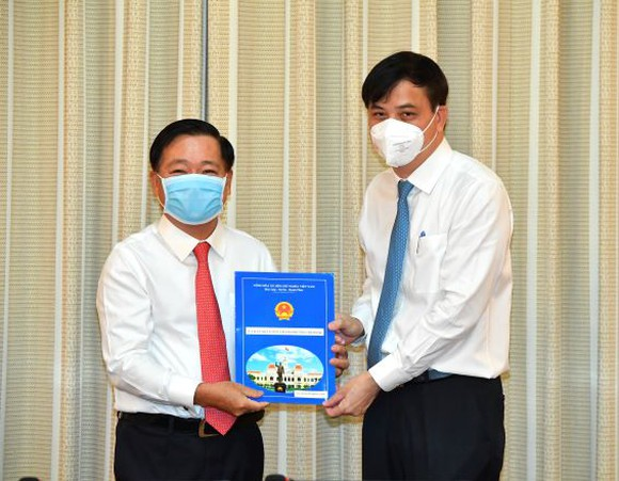 Bà Nguyễn Thị Thu Nga giữ chức vụ Phó Giám đốc Sở Xây dựng TPHCM ảnh 3