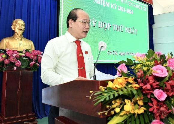 Huyện Củ Chi có tân Chủ tịch HĐND Nguyễn Quyết Thắng, tân Chủ tịch UBND Phạm Thị Thanh Hiền ảnh 1