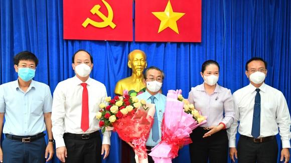 Đồng chí Ngô Thành Tuấn làm Bí thư Đảng ủy Khối Doanh nghiệp TPHCM, đồng chí Võ Ngọc Quốc Thuận làm Bí thư Quận ủy quận 8 ảnh 3