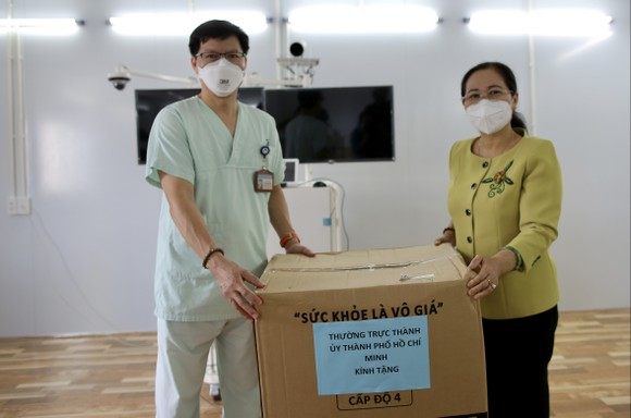 Chủ tịch HĐND TPHCM Nguyễn Thị Lệ: Không bao giờ quên những đóng góp to lớn của các y bác sĩ  ảnh 10