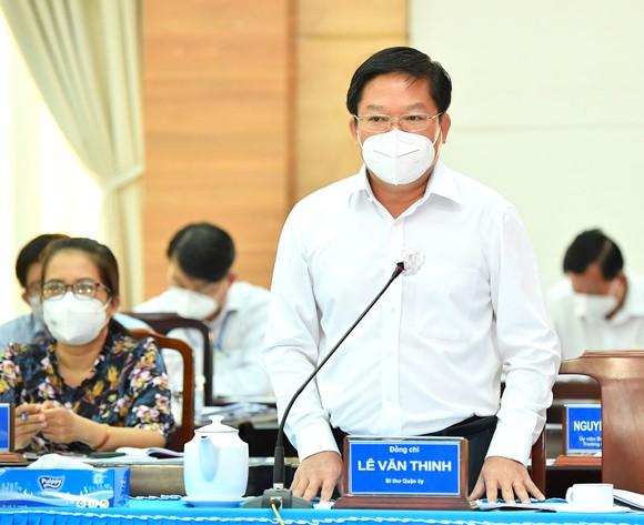 Bí thư Thành ủy TPHCM Nguyễn Văn Nên: 'Yếu tố cần nhất để mở cửa trở lại chính là vaccine' ảnh 3
