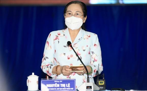Chủ tịch HĐND TPHCM Nguyễn Thị Lệ: 'Kết quả tại huyện Củ Chi là thành quả chung của người dân' ảnh 4