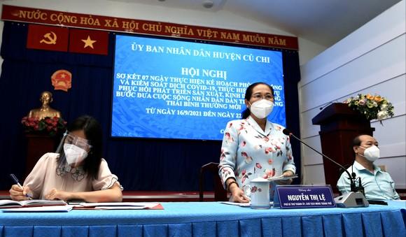 Chủ tịch HĐND TPHCM Nguyễn Thị Lệ: 'Kết quả tại huyện Củ Chi là thành quả chung của người dân' ảnh 2
