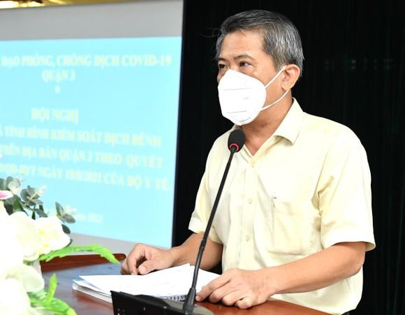 Chủ tịch HĐND TPHCM Nguyễn Thị Lệ: quận 3 cơ bản kiểm soát được dịch Covid-19   ảnh 4