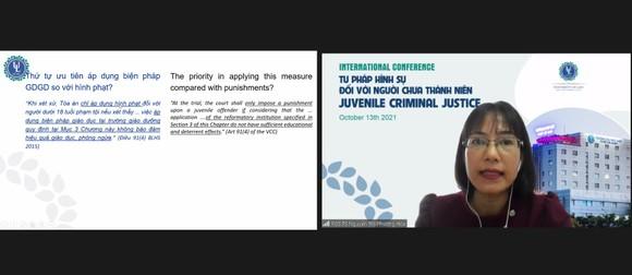 Hội thảo quốc tế về tư pháp hình sự đối với người chưa thành niên ảnh 2