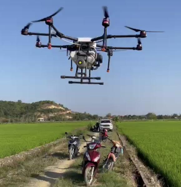 Đồng Nai: Đưa máy bay không người lái vào sản xuất lúa chất lượng cao ảnh 2