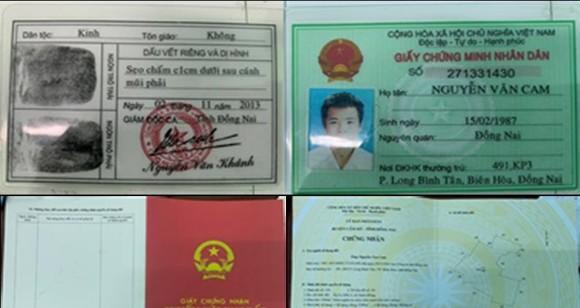 Đồng Nai: Bắt đối tượng làm giả giấy chứng nhận quyền sử dụng đất để lừa đảo ảnh 2