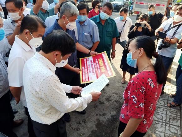 Đoàn công tác của Bộ Y tế kiểm tra công tác phòng chống dịch Covid-19 tại Đồng Nai ảnh 1