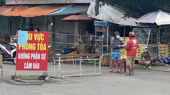Một điểm cách ly y tế ở Đồng Nai