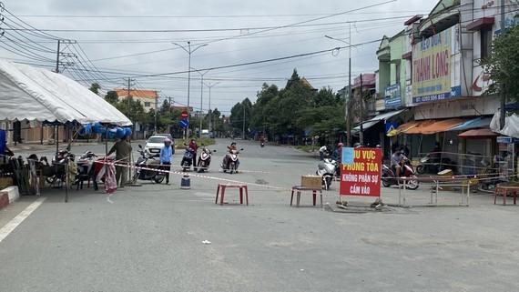 Một địa điểm cách ly y tế tại Đồng Nai