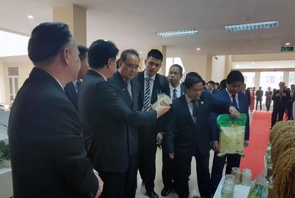 Đoàn cấp cao Triều Tiên tham quan tổ hợp nghiên cứu, sản xuất thiết bị dân sự của Viettel ảnh 7