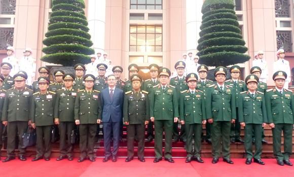 Quan hệ hợp tác quân đội là trụ cột trong quan hệ hợp tác toàn diện hai nước Việt - Lào ảnh 4