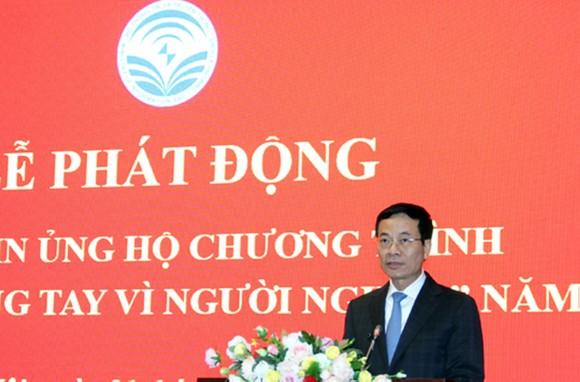 Bộ trưởng Nguyễn Mạnh Hùng kêu gọi ngành ICT hành động vì người nghèo ảnh 1