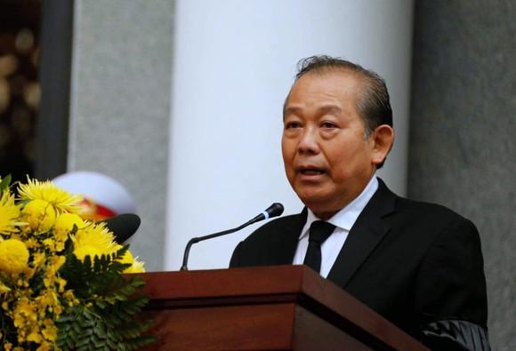 Cử hành trọng thể Quốc tang nguyên Tổng Bí thư Lê Khả Phiêu ảnh 1