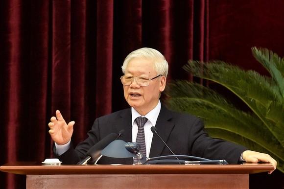 Bế mạc Hội nghị lần thứ 13 của Ban Chấp hành Trung ương Đảng khóa XII  ảnh 1