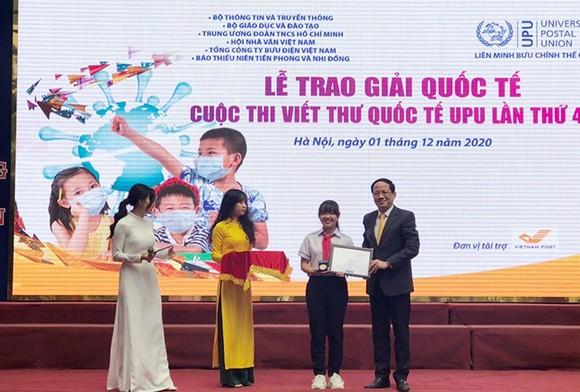 Cuộc thi Viết thư quốc tế UPU lần thứ 50 lấy chủ đề đại dịch Covid-19 ảnh 1