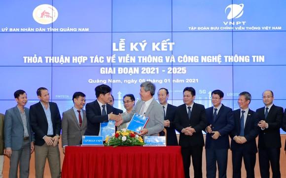 VNPT cam kết giúp Quảng Nam đẩy nhanh quá trình chuyển đổi số ảnh 1