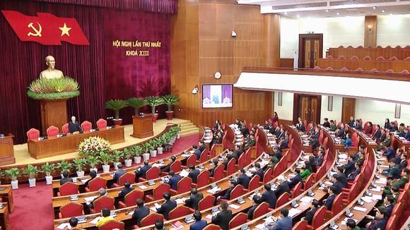 Đồng chí Nguyễn Phú Trọng được tín nhiệm bầu làm Tổng Bí thư Ban Chấp hành Trung ương Đảng khóa XIII ảnh 7