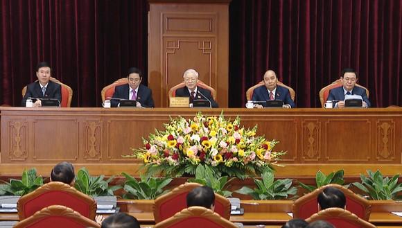 Đồng chí Nguyễn Phú Trọng được tín nhiệm bầu làm Tổng Bí thư Ban Chấp hành Trung ương Đảng khóa XIII ảnh 4