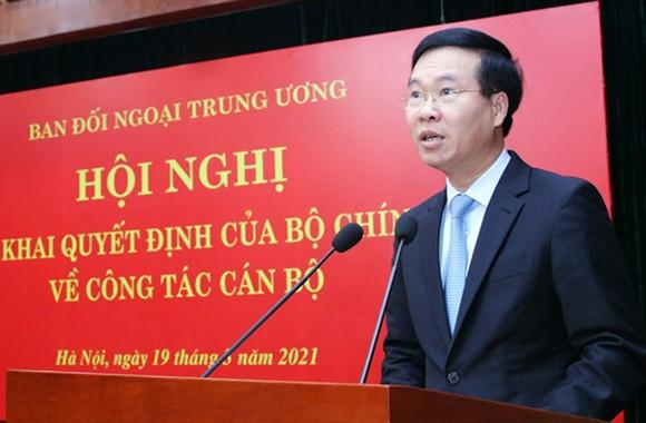 Thứ trưởng Bộ Ngoại giao Lê Hoài Trung giữ chức Trưởng Ban Đối ngoại Trung ương ảnh 2