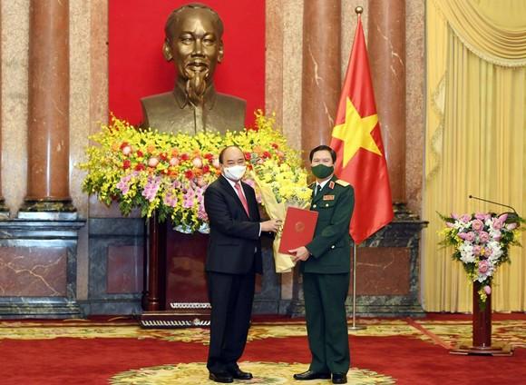 Thượng tướng Nguyễn Tân Cương được bổ nhiệm làm Tổng Tham mưu trưởng Quân đội nhân dân Việt Nam ảnh 1