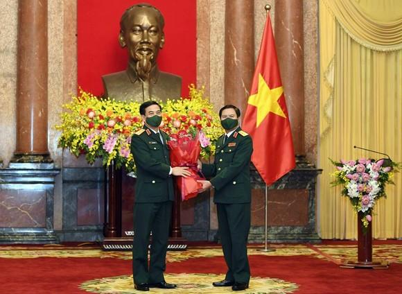 Thượng tướng Nguyễn Tân Cương được bổ nhiệm làm Tổng Tham mưu trưởng Quân đội nhân dân Việt Nam ảnh 5