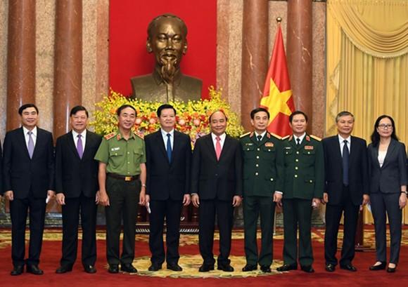 Thượng tướng Nguyễn Tân Cương được bổ nhiệm làm Tổng Tham mưu trưởng Quân đội nhân dân Việt Nam ảnh 4