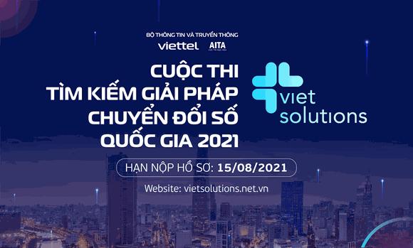 Khởi động cuộc thi Viet Solutions 2021 ảnh 1