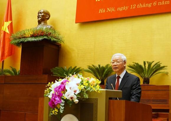Tổng Bí thư Nguyễn Phú Trọng: Cán bộ, đảng viên phải suy nghĩ, hành động vì lợi ích chung, vì hạnh phúc của nhân dân ảnh 1