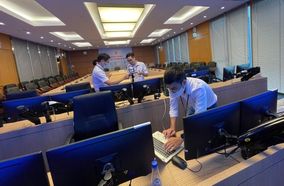 VNPT triển khai hạ tầng phục vụ kỳ họp thứ nhất, Quốc hội khoá XV ảnh 1