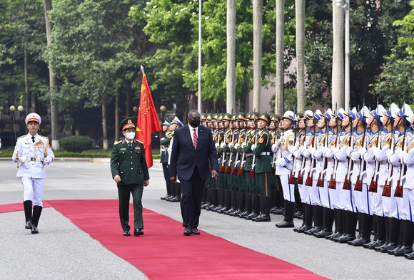 Việt Nam và Hoa Kỳ tiếp tục thúc đẩy hợp tác quốc phòng ảnh 2