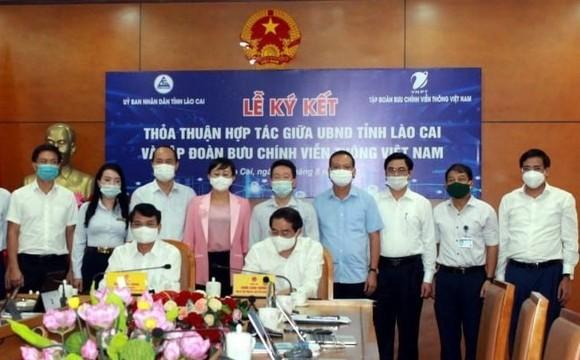 VNPT cùng Lào Cai thúc đẩy chính quyền điện tử và chuyển đổi số ảnh 1