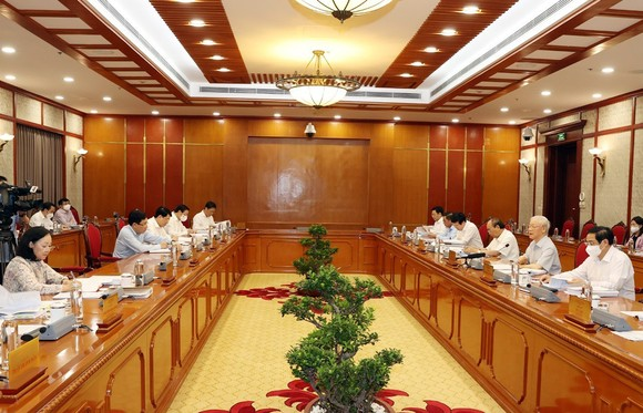 Tổng Bí thư Nguyễn Phú Trọng: Phải chống tiêu cực trong lĩnh vực tư tưởng chính trị, đạo đức, lối sống ảnh 1