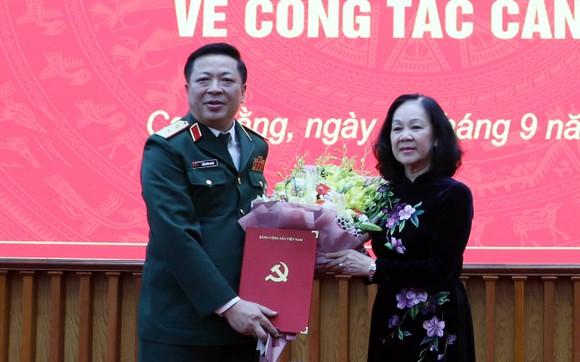 Bộ Chính trị chỉ định Trung tướng Trần Hồng Minh giữ chức Bí thư Tỉnh ủy Cao Bằng ảnh 1