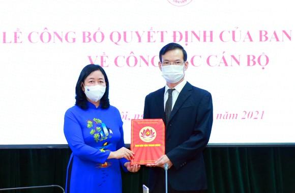 Đồng chí Triệu Tài Vinh giữ chức Phó Trưởng Ban Dân vận Trung ương ảnh 1